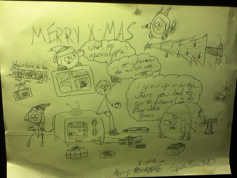 Merry Apocalypse. Sort of. by SparXSoul340