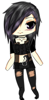 Nyx Chibi by HoneyMochaCat