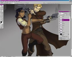 WIP: Angle Shooters by blitterbug