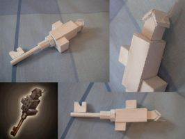 Tower Key Papercraft - WIP1 by JaffaCakeLover
