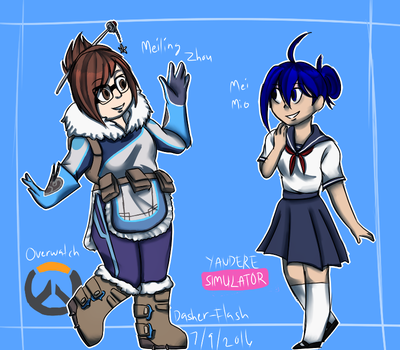 Mei and Mei by Dasher-Flash