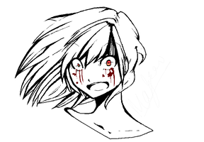 I'm Not Yandere :: Doodle by Lollivia