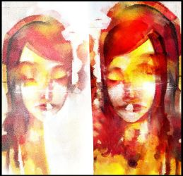 mirror.reflecting.on.a.girl by betteo