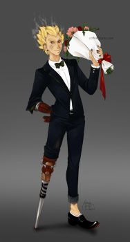 Snazzy Junkrat in a Suit by CoffeeCat-J