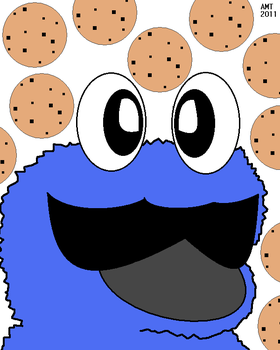 Weegeefied Cookie Monster by AngusMcTavish