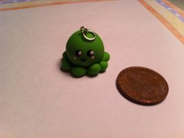 Octopus Charm ~$1.50 by Jenna7777777