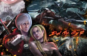 Devil May Cry 10th Year by spirapride