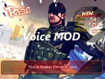 Complete! Solid Snake voice mod for Guile by Hokuto-no-Fan