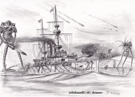 HMS Thunder Child The Brave! by LePtitSuisse1912