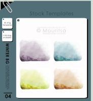Template Pack - Winter Background by iMouritsa