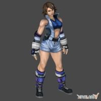 Asuka Kazama 1p outfit for XNALara by KSE25