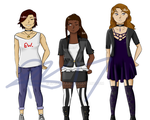 Angels - Character Concepts by CryDontSmile