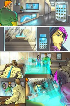 Frost Fire page 19 color by johnercek