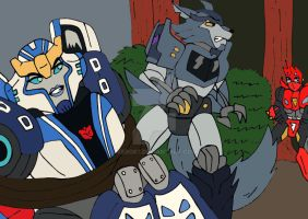 TF RiD: In The Woods by xero87