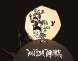 Don't starve... Together ? by Pendablood