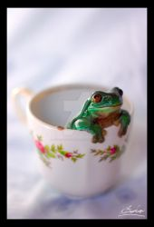 A Cup O' Frog by switchbladeserenade