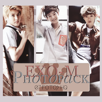 Photopack Exo-M 005 by DiamondPhotopacks