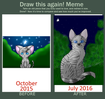 Draw This Again - Jayfeather by StripedPaws