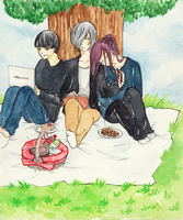Picnic time by Rakuenflowright