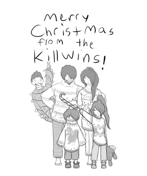 Killwin Christmas by amerillo342