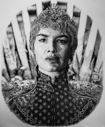 Cersei Lannister Game of Thrones by georgewuart