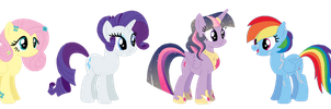 Next Gen::. My mane six by Septicd00dles