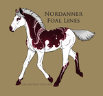 A4358 Nordanner Foal by Esa82