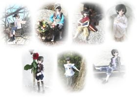 Ciel BJD clothing collection by MariChan27