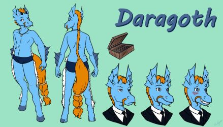 Daragoth Character Sheet (Commission) by SeptemberSignal