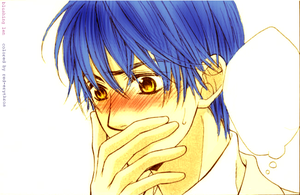 Colored: Len Blushing by Erythros