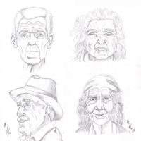 Elderly Studies by mayorlight