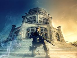 The Protector - New Castle by TahaAlasari
