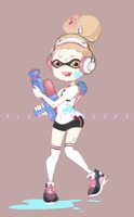Me as squid girl by BlubberBunny