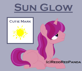 Sun Glow the Unicorn by ReddRedPanda