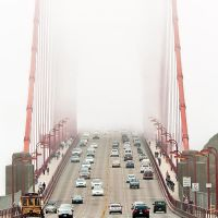 San Francisco, Golden Gate by alierturk