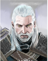 The Witcher Geralt of Rivia by gamerfan2000