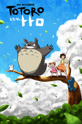 My Neighbor Totoro by DragonwolfRooke