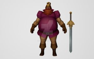Volstagg (MFF 3D Model) by Pitermaksimoff