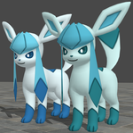 XPS Pokemon X and Y Glaceon by zoid162010