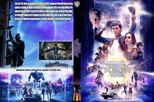 Ready Player One DVD (Fan Made) by Movies-of-yalli