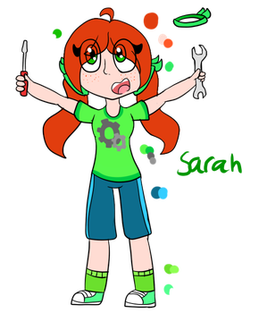 Sarah redesign by SquickWeeb