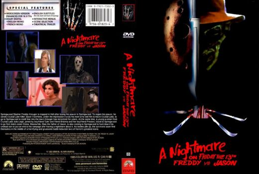 A Nightmare on Friday the 13th DVD cover by SteveIrwinFan96