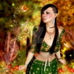 Wonder of the Enchanted Forest by RavenMoonDesigns