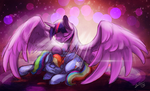 Cuddles by BlindCoyote