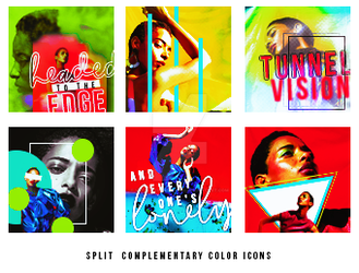 Split Compementary Icons by withouthesitating