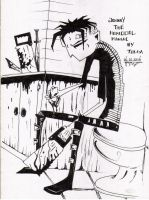 Johnny The Homicidal Maniac by maniacology