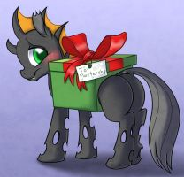 Christmas Changeling by PrettyPinkP0ny