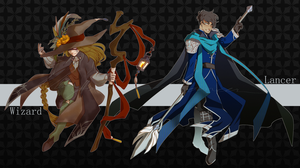 [Set Price] The Wizard and The Lancer (CLOSED) by acverg