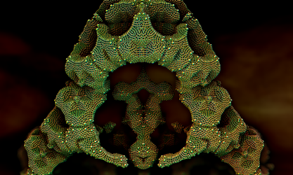 Chain 2 Pong 25 - Holey Artifact by krompulos