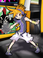 [GAME ART] Neku Sakuraba TheWorldEndWithYou by Seb-LK-585